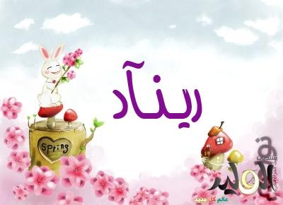 صوره ما معنى اسم ريناد في اللغة العربية