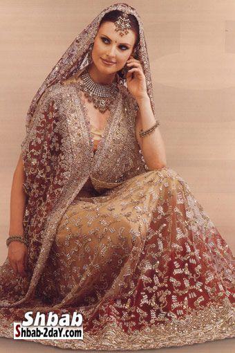بالصور اجمل الملابس الهندية للبنات