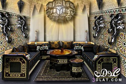 بالصور صالونات المغربية2016تشكيلة مِن الصالونات المغربية 3dlat.com_1415542091