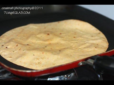 بالصور طريقة عمل خبز الشاورما 20160708 929