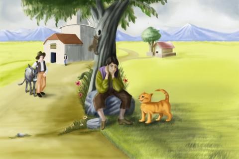 صوره قصة القط الذكي ملخصة