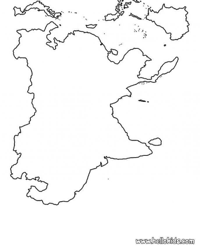 صور خريطة العالم للتلوين للاطفال