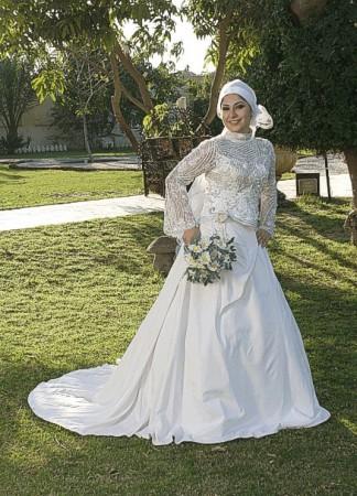 فساتين عروس محجبات2018 2)
