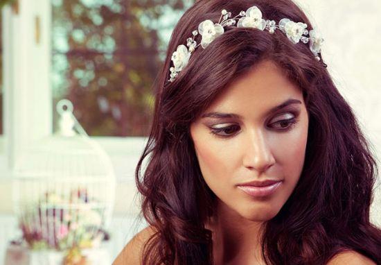صوره تسريحات شعر العرائس متنوعة