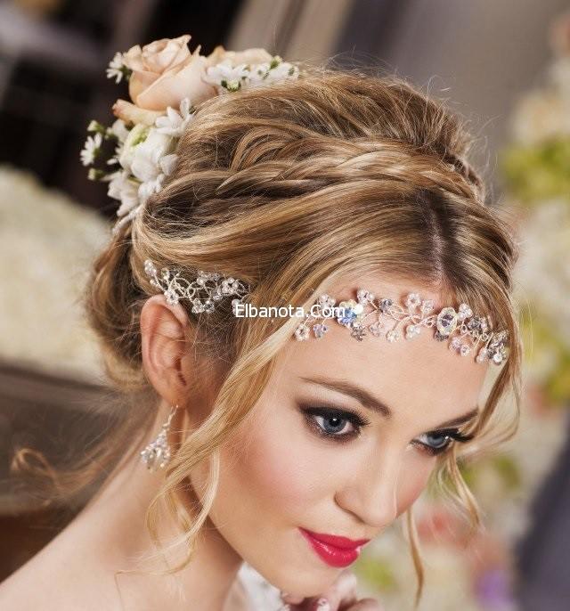 بالصور تسريحات شعر العرائس متنوعة 20160709 1483