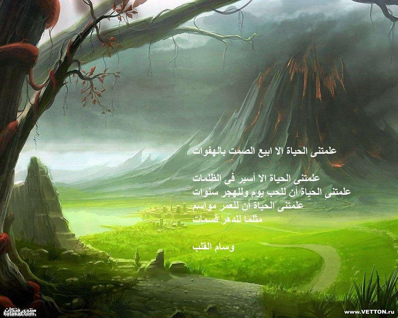 صوره قصيدة فتاة احلامي بقلمي