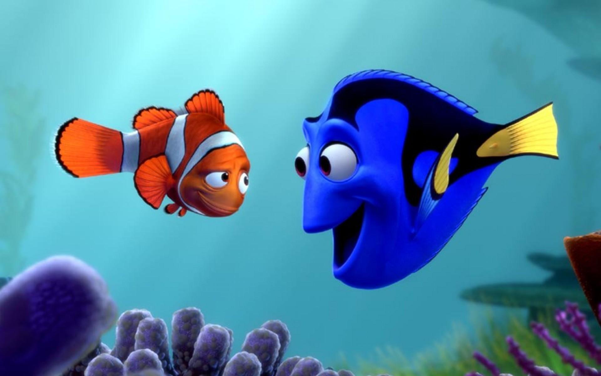 صوره ملخص كرتون السمكة نيمو