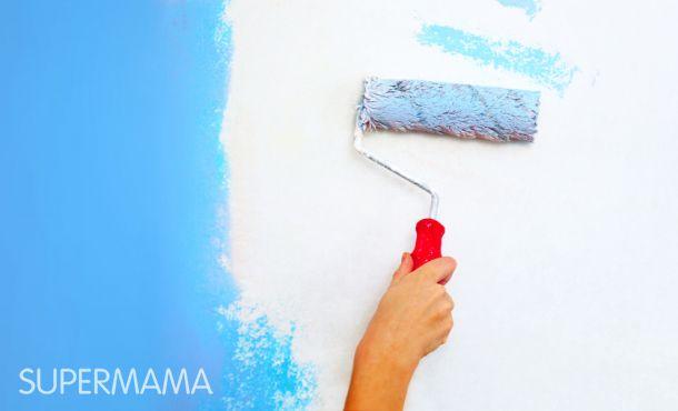 صوره كيفية دهان حوائط الغرفة بنفسك
