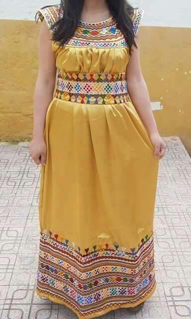 11933c0ac5721 اليك جديد موديل قنادر قبائلية جميلة و راقية و بالوان رائعة تناسبك. احدث  واحدث مجلات الخياطة الجزائرية للقنادر القبائلية العصرية 2019 …