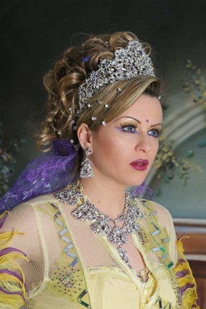 صوره احدث تسريحات مغربية للعرائس