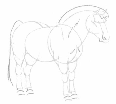بالصور كيفية رسوم حصان للاطفال 20160709 753