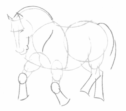بالصور كيفية رسوم حصان للاطفال 20160709 758