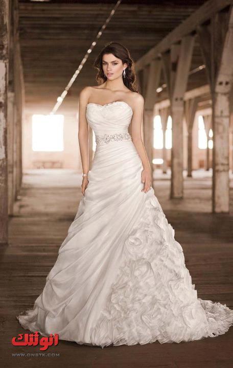 بالصور فساتين زفاف ماركات عالمية 20160709 786