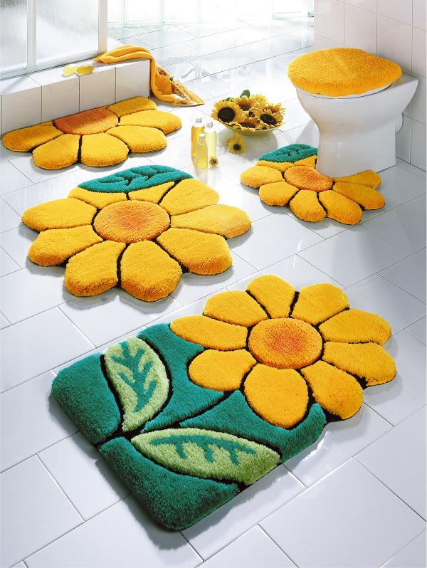 صورة مفارش للحمامات ابداع وجمال , خلي حمامك عالم تاني