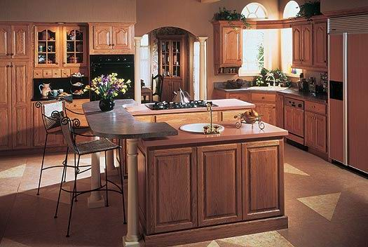 Solid Wood Kitchen Cabinet JZ W010  تصميمات و  ديكورات مطابخ خشبِ و  ألمنيوم حِديثه للمطابخ ألواسعه