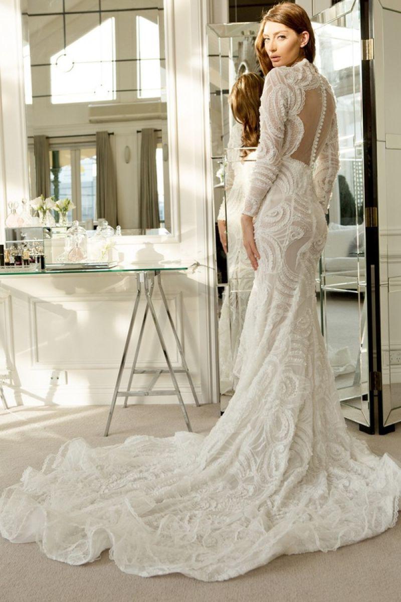 صوره اجمل فساتين زفاف تركية