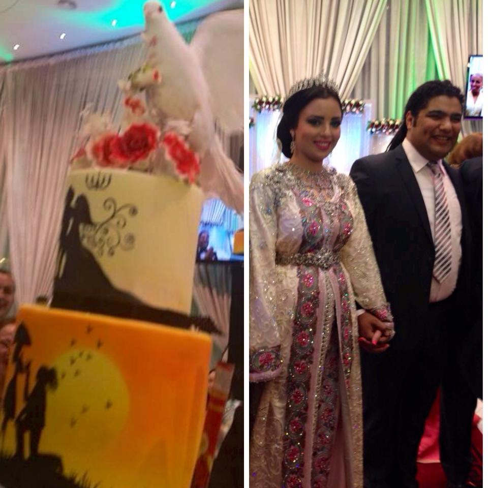 بالصور زفاف فريد غنام نجم ذا فويس 20160711 2181