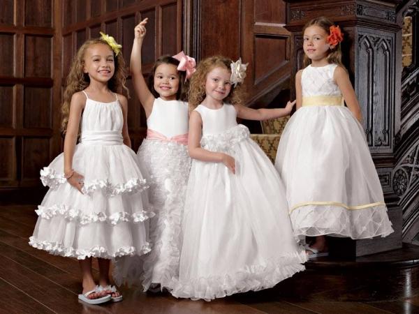 بالصور اجمل تصميم فستاين زفاف للصغار للاطفال 20160711 246
