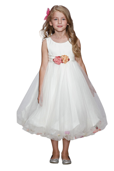 بالصور اجمل تصميم فستاين زفاف للصغار للاطفال 20160711 252