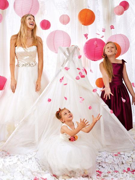 بالصور اجمل تصميم فستاين زفاف للصغار للاطفال 20160711 253