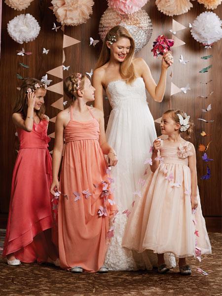 بالصور اجمل تصميم فستاين زفاف للصغار للاطفال 20160711 255