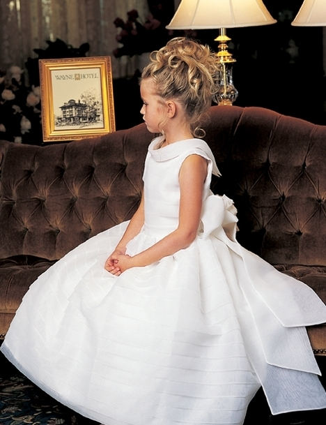بالصور اجمل تصميم فستاين زفاف للصغار للاطفال 20160711 260