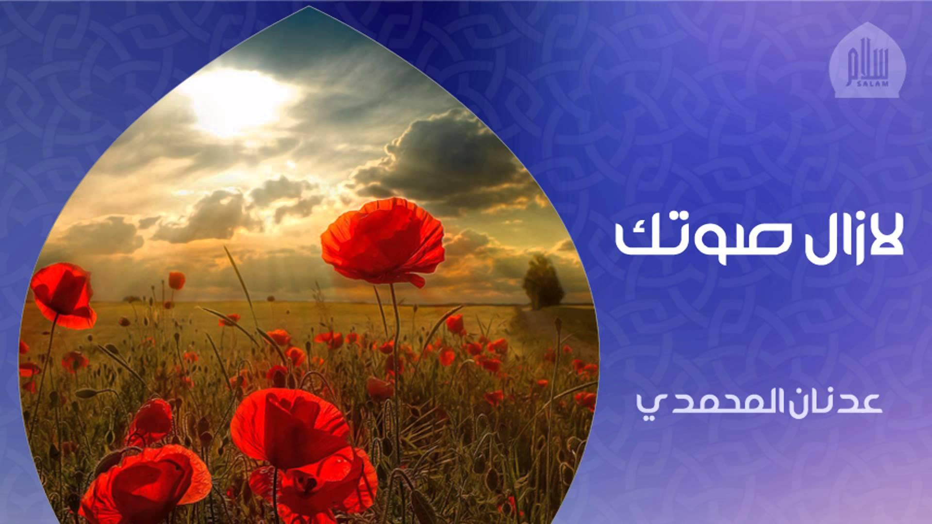 صور اناشيد عدنان المحمدي مكتوبة