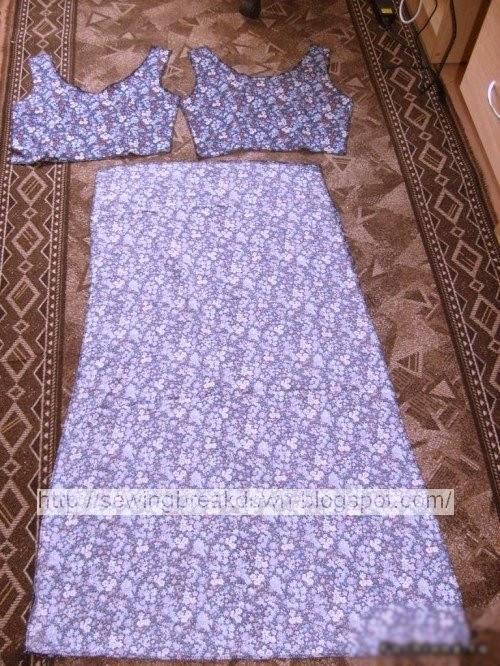 بالصور تفصيل فستان صيفي بطريقة بسيطة وسهلة 20160712 1395