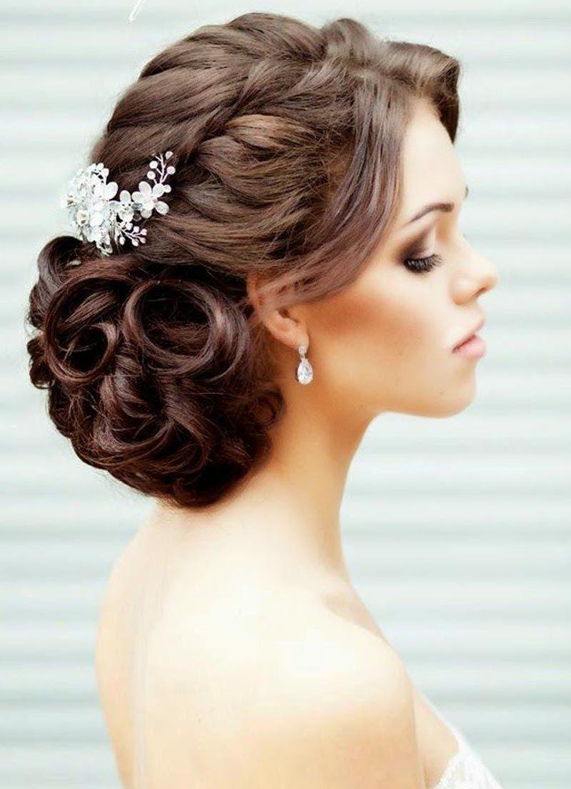 صور احدث موضة تسريحات الشعر للعرائس