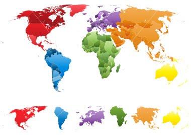 صورة اسماء قارات العالم ومعانيها , العالم كيف يكون مكان ضيق