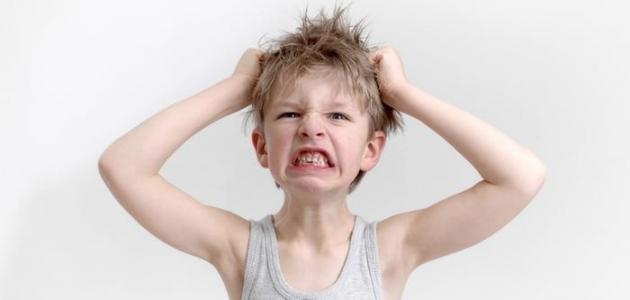 كيفية  معالجه ألعصبيه عِند ألاطفال