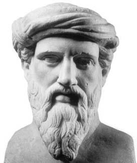 بالصور صورة فيثاغورس عالم الرياضيات