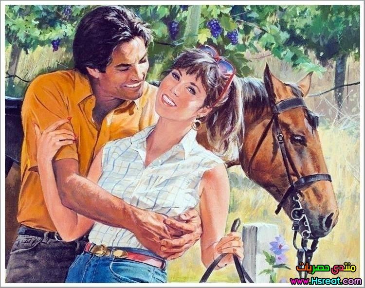 لوحة رومانسية مع الحصان.jpg