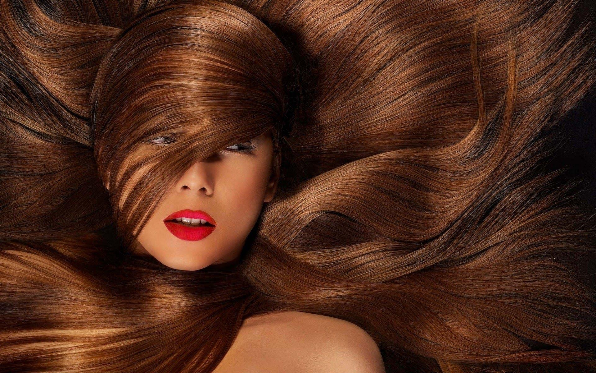 صورة كيفية صبغ الشعر الاسود باللون البني