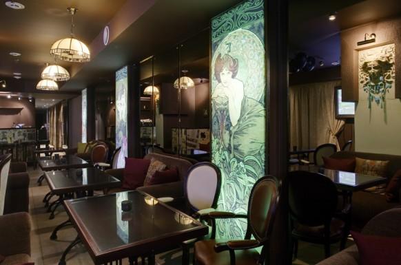 نماذج تصميم المطاعم الوجبات السريعة و المطاعم الكبيرة و الكافتريات راائع جدا!!