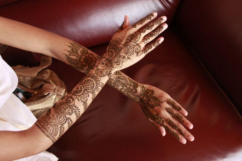 حناء اماراتي للعروس