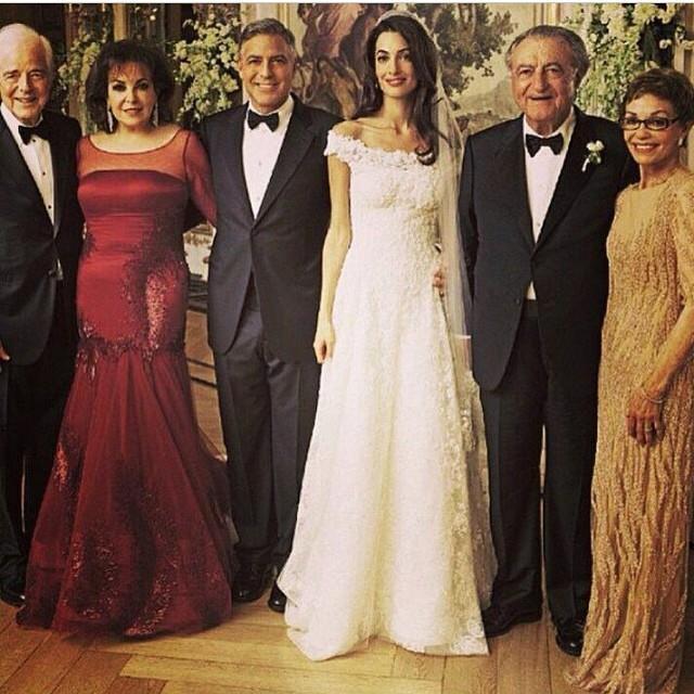 بالصور زفاف جورج كلوني وامل علم الدين 20160715 1114