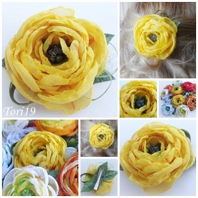 بالصور كيفية صناعة الورد بالقماش 20160715 1618