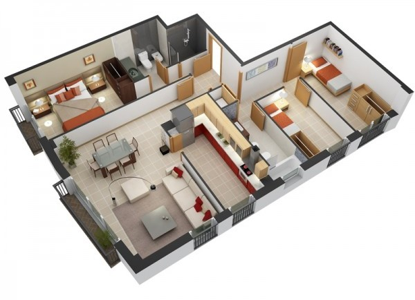 بالصور اجمل ديكورات وتصاميم المنزل من الداخل