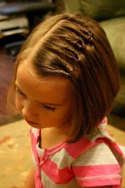 تساريح شعر فتيات صغيرة سهله