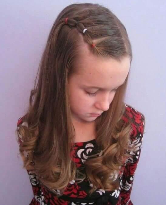 تساريح شعر فتيات كبيرة