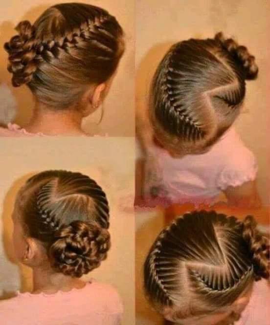 تساريح شعر للاطفال للمناسبات