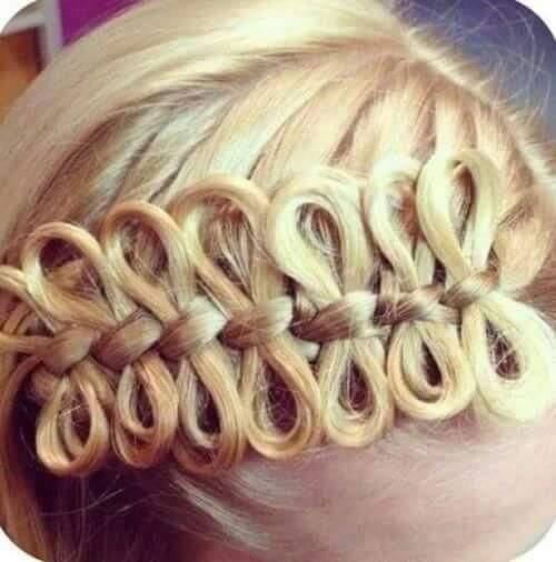 تساريح شعر للحفلات