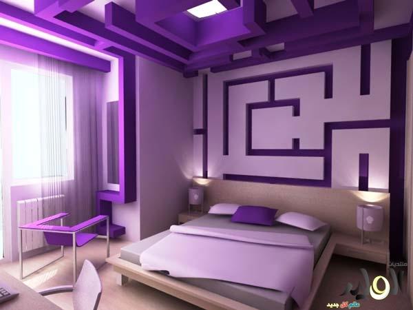 بالصور دهانات غرف النوم باللون الموف 20160716 193