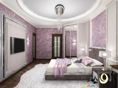 بالصور دهانات غرف النوم باللون الموف 20160716 194