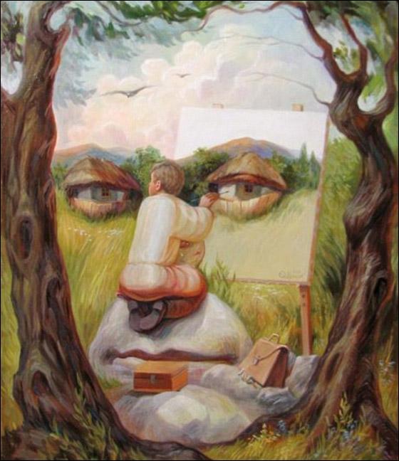 صور لوحات زيتية هو احد اشكال الفنون التشكيلية