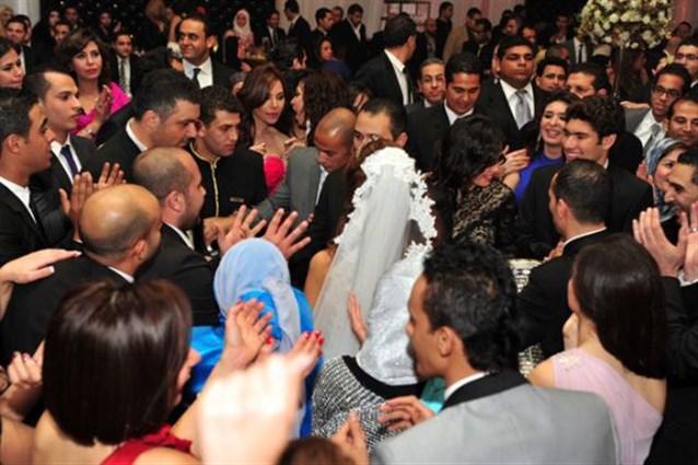 بالصور حفل زفاف ابنة غادة عبد الرازق روتانا 20160716 269