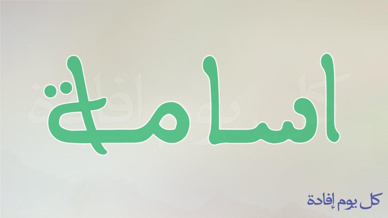 بالصور ما معنى اسم اسامة في اللغة العربية 20160716 2913