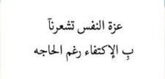 بالصور ابيات شعر عن عزة النفس والكرامه 20160716 3054