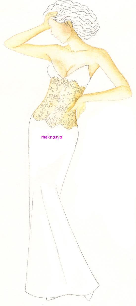 بالصور طريقة عمل فستان سهرة بسيط